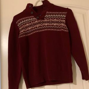 Boys Maroon Children's Place Sweater